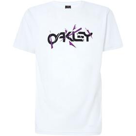 Oakley Broken Shards B1B Maglietta Uomo, bianco